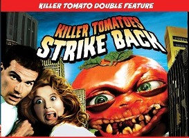 Killer Tomatoes Strike Back Poster