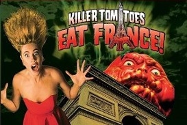 Killer Tomatoes Eat France Poster