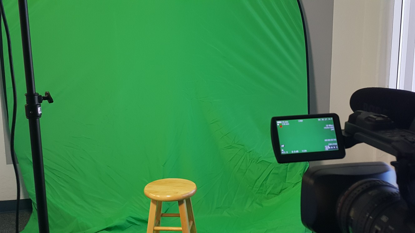 Green Screen and Camera